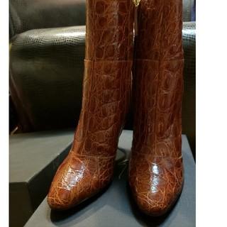 ジュゼッペザノッティ(GIUZEPPE ZANOTTI)のGIUSEPPE ZANOTTI  ブーツ クロコ型押 新品未使用 正規品(ブーツ)