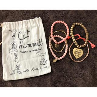 キャットハミル(CAT HAMMILL)のキャットハミルCatHammill 5連ブレスレット(ブレスレット/バングル)