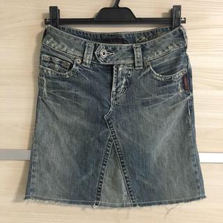 シルバージーンズ(Silver JEANS)のディーゼルに行ったらこの丈のジーンズが!最近売れるんですって店員さん😳6/21(ミニスカート)