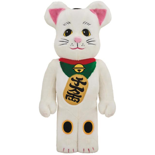 MEDICOM TOY(メディコムトイ)の招き猫 着ぐるみ BE@RBRICK 1000% MEDICOM TOY エンタメ/ホビーのフィギュア(その他)の商品写真