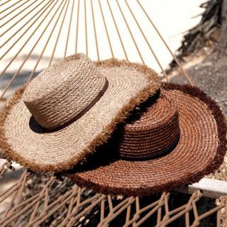 ルームサンマルロクコンテンポラリー(room306 CONTEMPORARY)のroom306CONTEMPORARY ♡ Summer Wide Hat(麦わら帽子/ストローハット)