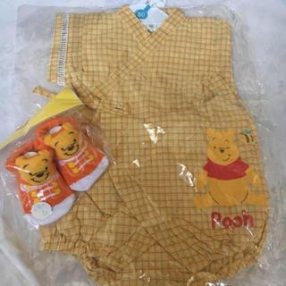 ディズニー(Disney)の子供用 甚平 プーさん Disney(甚平/浴衣)