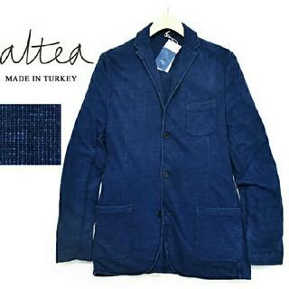 アルテア(ALTEA)のアルテア Altea インディゴ染め 3B ジャージージャケット(テーラードジャケット)