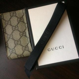 グッチ(Gucci)のグッチ モバイルケース 小物入れ等にも使用可 美品 GUCCI(モバイルケース/カバー)