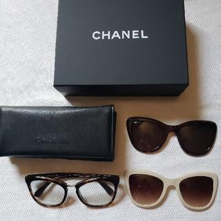 5f85a880b973 シャネル(CHANEL)のシャネル クリップオン アイウェア サングラス 新品未使用 限定付属. サングラス/メガネ