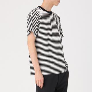 ムジルシリョウヒン(MUJI (無印良品))のMUJI Labo ボーダーシャツ(Tシャツ/カットソー(半袖/袖なし))