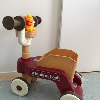 ディズニー(Disney)のプーさん おしゃべりウォーカーライダー(手押し車/カタカタ)