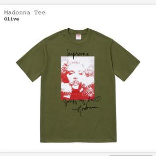 シュプリーム(Supreme)のsupreme madonna tee M olive (Tシャツ/カットソー(半袖/袖なし))
