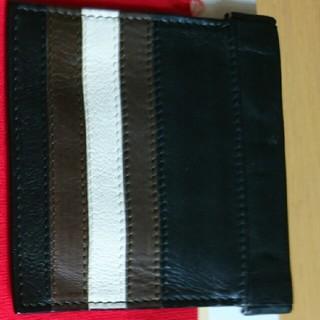 バリー(Bally)のバリー正規品カーフレザー極美品小銭入れブラック(折り財布)
