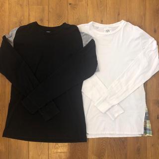 ヴィスヴィム(VISVIM)のvisvim ロンT 2枚セット fragment supreme(Tシャツ(長袖/七分))
