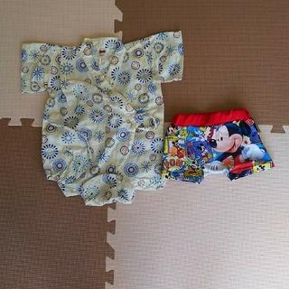 ディズニー(Disney)の甚平ロンパースと水着(水着)