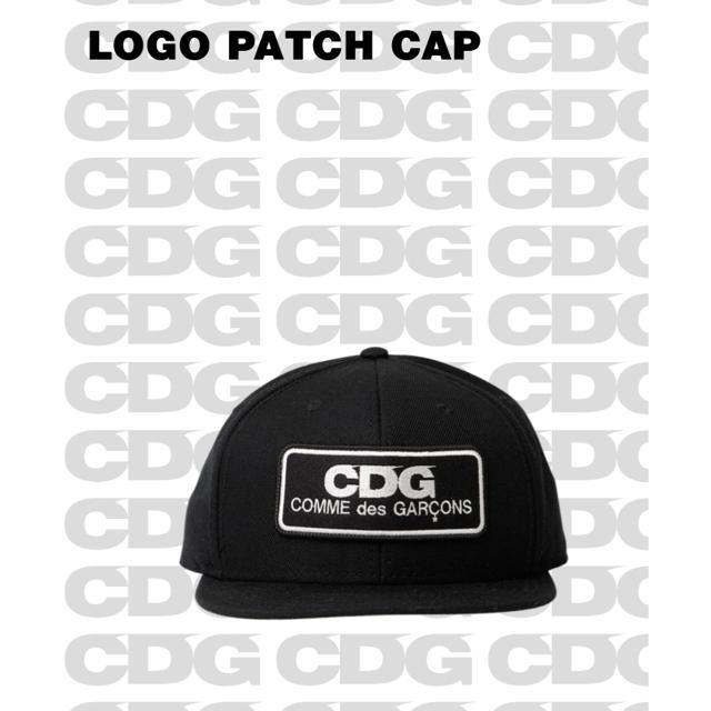 c2021cfaf コムデギャルソン CDG LOGO PATCH CAP   フリマアプリ ラクマ