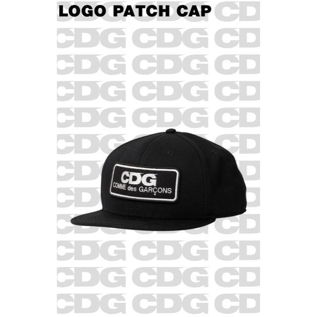 b974bac55 コムデギャルソン CDG LOGO PATCH CAP