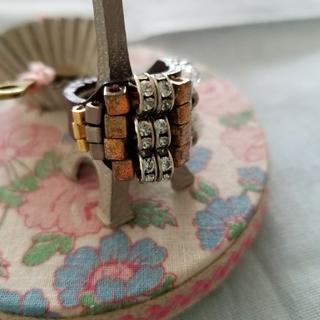 アッシュペーフランス(H.P.FRANCE)のアッシュペーフランス購入/秋色レザーリング(リング(指輪))