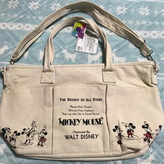 ディズニー(Disney)のタイムセール!ディズニー 帆布 ガーデンバッグ マザーバッグ(トートバッグ)