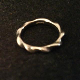 シルバーピンキーリング(リング(指輪))