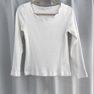 ジーユー(GU)のremiさん用 ロングTシャツ(Tシャツ(長袖/七分))