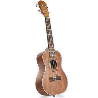 ウクレレ レトロ感ある マホガニー材 イタリア輸入の弦(コンサートウクレレ)
