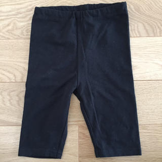 ムジルシリョウヒン(MUJI (無印良品))の無印良品 90 黒 レギンス(パンツ/スパッツ)