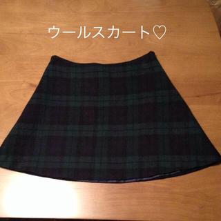 プラージュ(Plage)のplage ウールスカート♡(ひざ丈スカート)