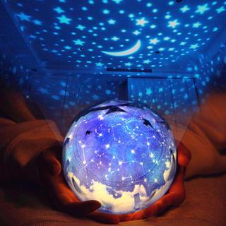プラネタリウム おしゃれ 可愛い 星 月 地球(プロジェクター)