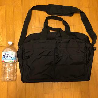 ムジルシリョウヒン(MUJI (無印良品))の美品  無印良品 ボストンバッグ(旅行用品)