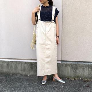 カスタネ(Kastane)のkastane ジャンパースカート(ロングワンピース/マキシワンピース)
