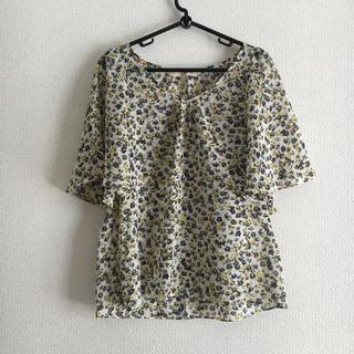 デミルクスビームス(Demi-Luxe BEAMS)のビームス 小花柄ブラウス(シャツ/ブラウス(半袖/袖なし))