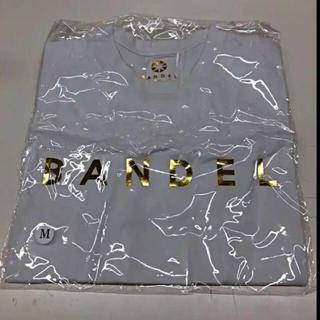 【非売品】BANDEL  Tシャツ ホワイト&ゴールド(Tシャツ/カットソー(半袖/袖なし))
