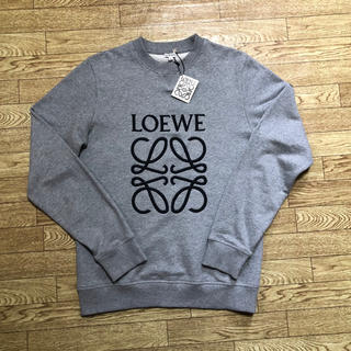 ロエベ(LOEWE)のサイズS LOEWE ロエベ スウェット アナグラム グレー トレーナー(スウェット)