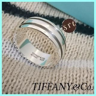 ティファニー(Tiffany & Co.)の希少サイズ 超美品 ティファニーリング アトラス グルーブド リング 正規品(リング(指輪))