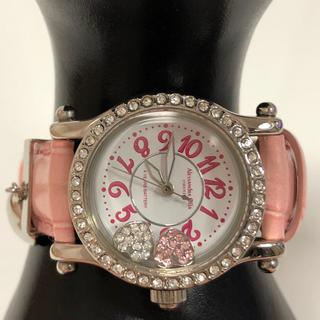 アレッサンドラオーラ(ALESSANdRA OLLA)の324438様 Alessandra Olla ハート腕時計 Cancam掲載(腕時計)