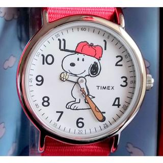 タイメックス(TIMEX)のTIMEX タイメックス 腕時計 スヌーピー UNISEX 公式コラボ(腕時計(アナログ))