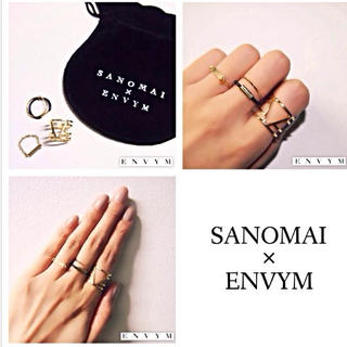 アンビー(ENVYM)のENVYM♡さのまいコラボリング(リング(指輪))