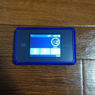 エヌイーシー(NEC)のWIMAX 2+ Speed Wi-Fi NEXT WX03 ディープブルー(PC周辺機器)