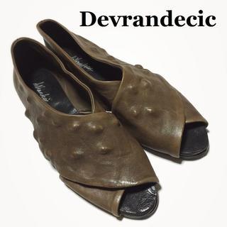 マルタンマルジェラ(Maison Martin Margiela)のDevrandecic/ムニョス ブランデシック☆レザーシューズ/靴 40(スリッポン/モカシン)