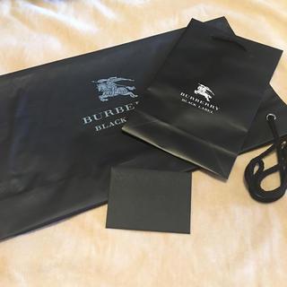 バーバリーブラックレーベル(BURBERRY BLACK LABEL)のマリン様専用 バーバリー 袋 ショップ袋(ショップ袋)
