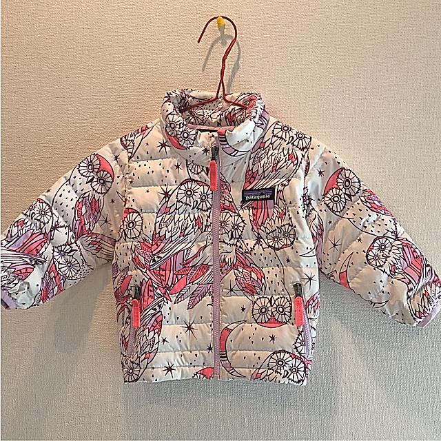 patagonia(パタゴニア)のパタゴニア☆ダウンセーター80 キッズ/ベビー/マタニティのベビー服(~85cm)(ジャケット/コート)の商品写真