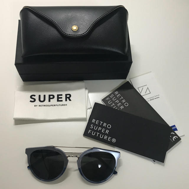 SUPER(スーパー)のSUPER BY RETRO SUPER FUTURE サングラス メンズのファッション小物(サングラス/メガネ)の商品写真