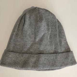 MUJI (無印良品) - 無印良品 リブニット帽
