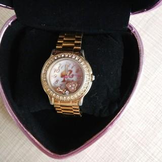 バービー(Barbie)のNene様専用 Barbie ケース付きゴールド時計(腕時計)
