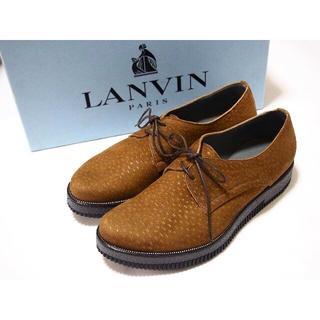ランバン(LANVIN)のLANVIN レースアップシューズ 6(ドレス/ビジネス)