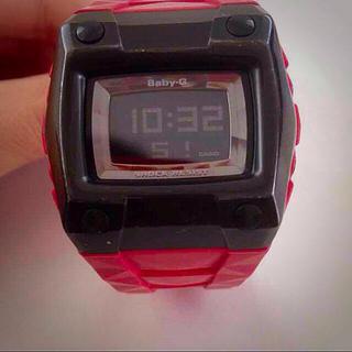 ベビージー(Baby-G)のBaby-G RED×Black(腕時計)