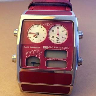 ヴァガリー(VAGARY)のバガリー  クロノグラフVAGARY VN2-011-90 [クオーツ](腕時計)