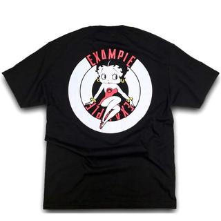 M EXAMPLE BETTY BOOP ROUND LOGO tee(Tシャツ/カットソー(半袖/袖なし))