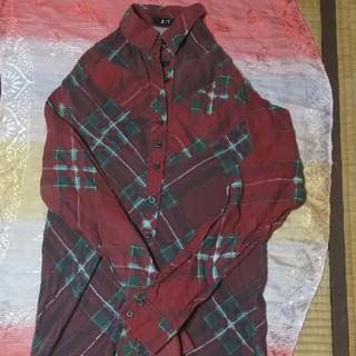 エーティー(A/T)の変型ネルシャツ(シャツ/ブラウス(長袖/七分))