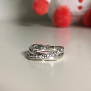 ポンテヴェキオ K18 WG ダイヤモンドリング(リング(指輪))