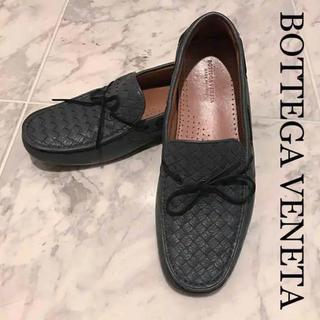 ボッテガヴェネタ(Bottega Veneta)の【Bottega Veneta】ドライビングシューズ② ローファー ライトグレー(スリッポン/モカシン)