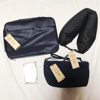 ムジルシリョウヒン(MUJI (無印良品))の無印良品 MUJI 4点セット 無印 ケース ポーチ ポシェット 旅行 トラベル(旅行用品)