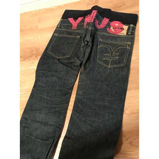 エンジーンズ(YENJEANS)のデニム yen jeans ダブルウエスト パンツ(デニム/ジーンズ)